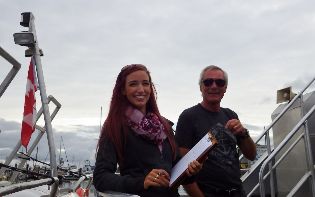 Mackay Whale Watching Tours Crew