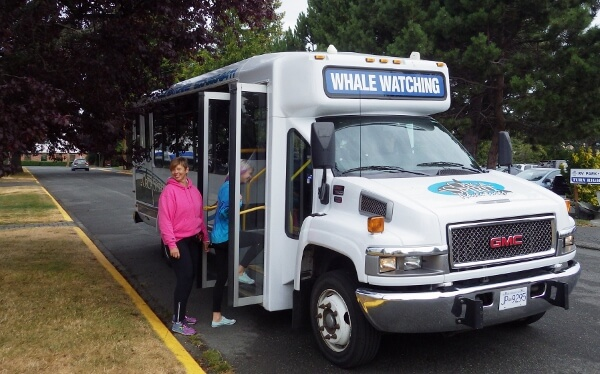 Orca Spirit Adventures Shuttle Bus