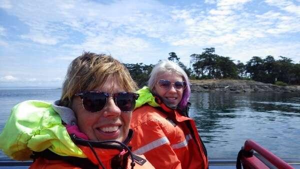 Orca Spirit Adventures Zodiac Ride