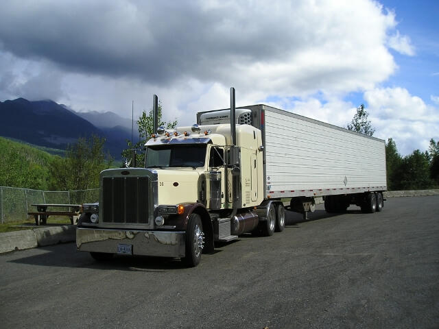 Semi Transport Truck