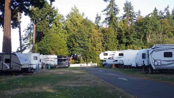Paradise RV Park Parksville British Columbia