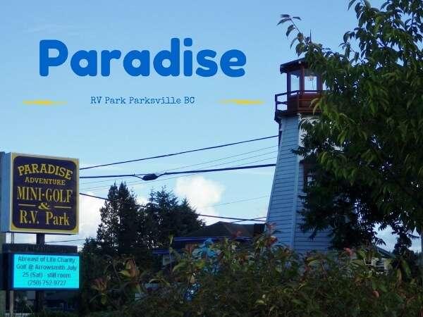 Paradise RV Park Parksville BC