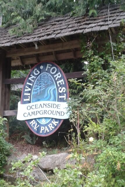 Living Forest RV Park Nanaimo BC