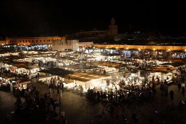 Djemaa El Fna Market Morocco