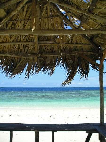 Dominican Republic Beach Hut