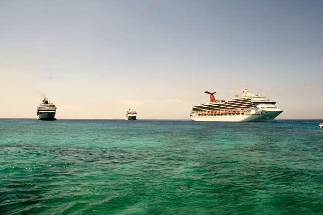 Cruise Ship in St Maarten