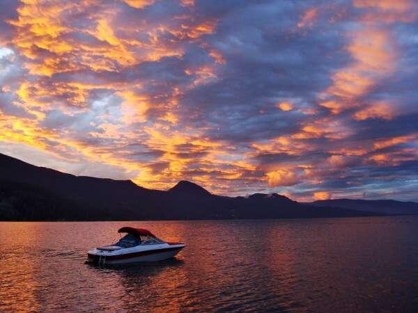 Okanagan Lake British Columbia