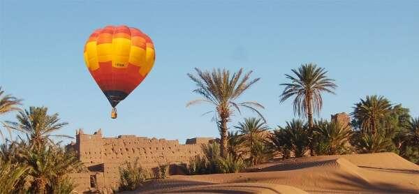 marrakech hot air ballon ride