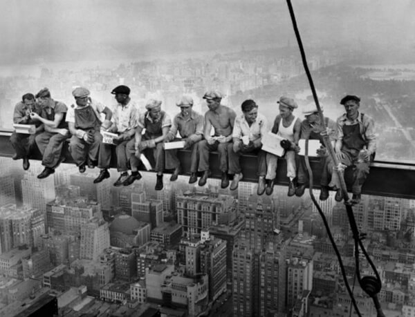 Empire State Building Iron Workers