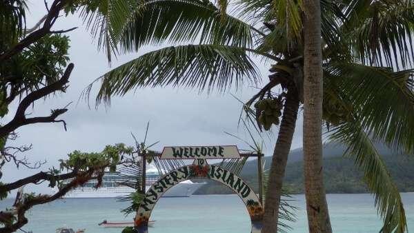 Mystery Island Vanuatu