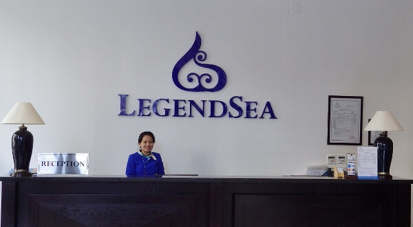 LegendSea Hotel Reception