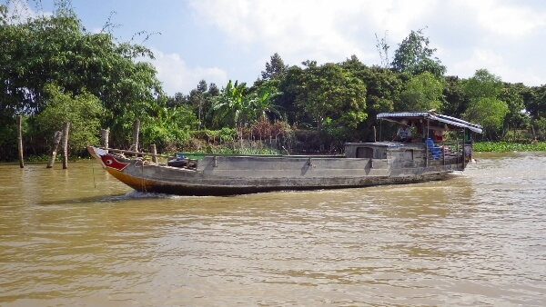 Mekong Delta River Boat