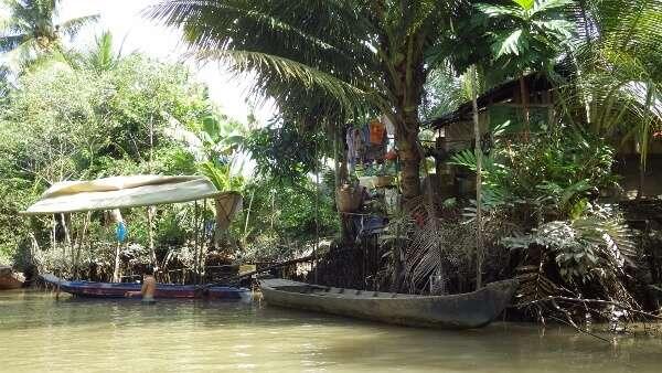 Mekong Delta River Home