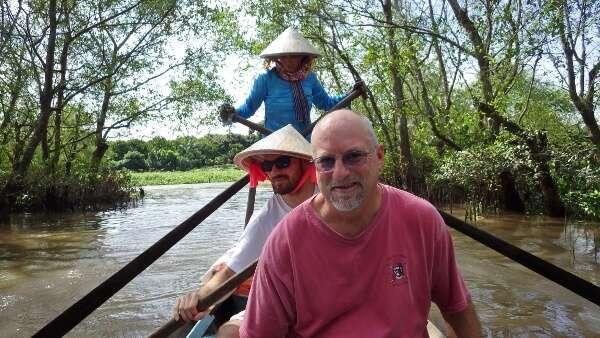 Mekong Delta Sampan Boat