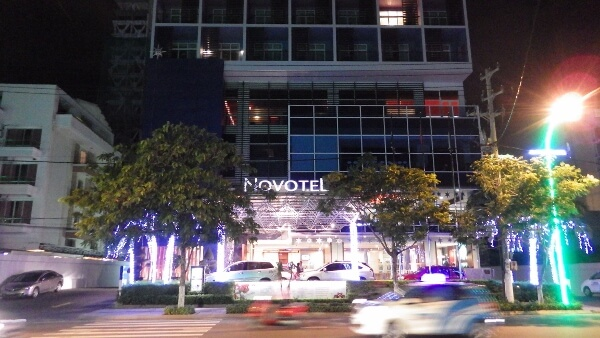 Stay at The Novotel Hotel Nha Trang Vietnam