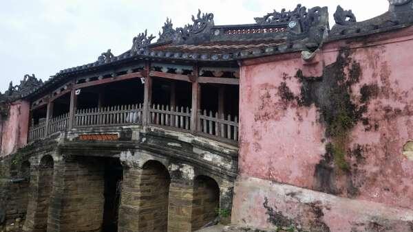 Ancient Bridge Hoi An Vietnam