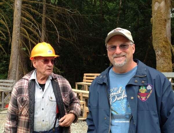 Elderly Lumberjack British Columbia