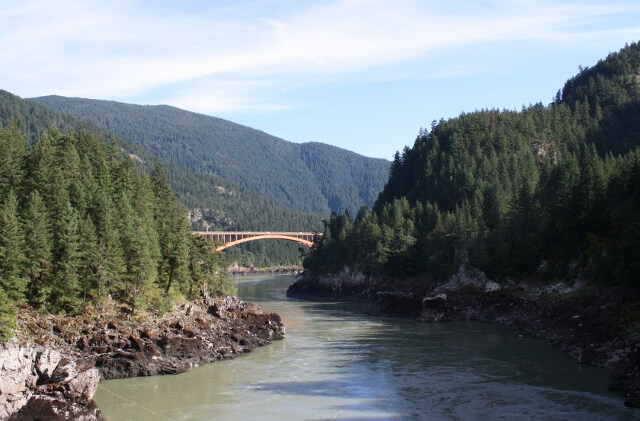 Fraser Canyon British Columbia Canada