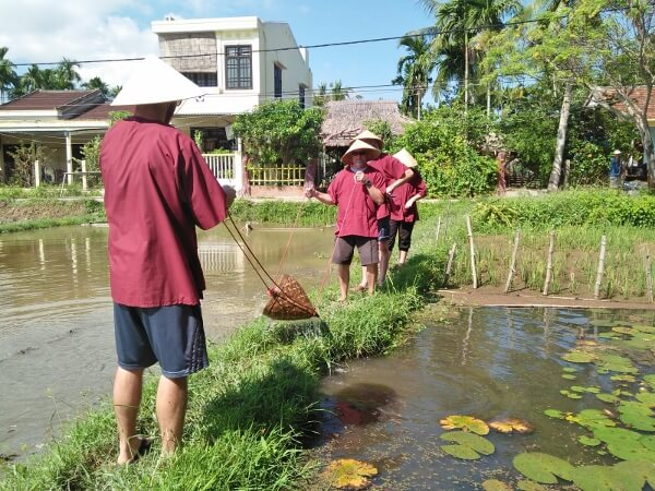 Hoi An Eco Tourism Rice Farming Demonstration