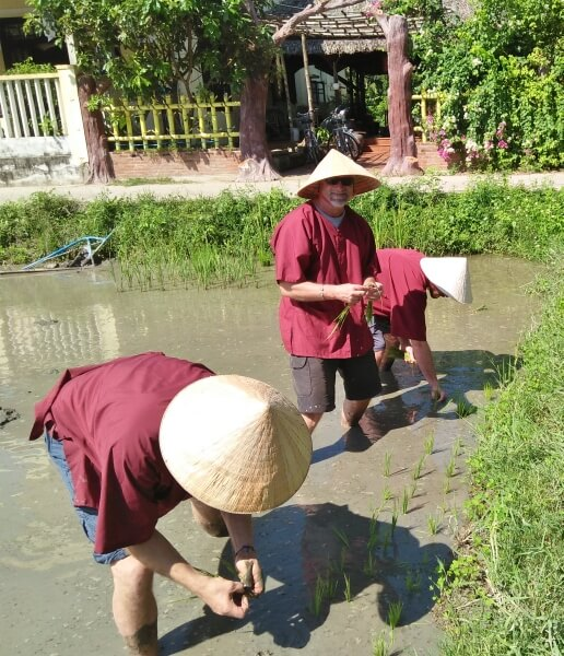 Hoi An Eco Tourism Rice Planting