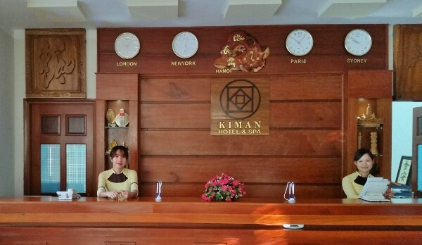 Kiman Hoi An Hotel and Spa Reception