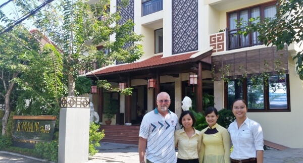 Kiman Hoi An Hotel and Spa Staff