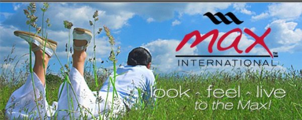 Max International Ad Banner