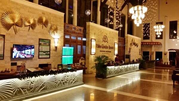 Palm Garden Resort & Spa Lobby