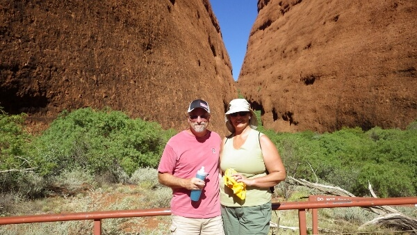 Walpa Gorge Walk Kata Tjuta Australia