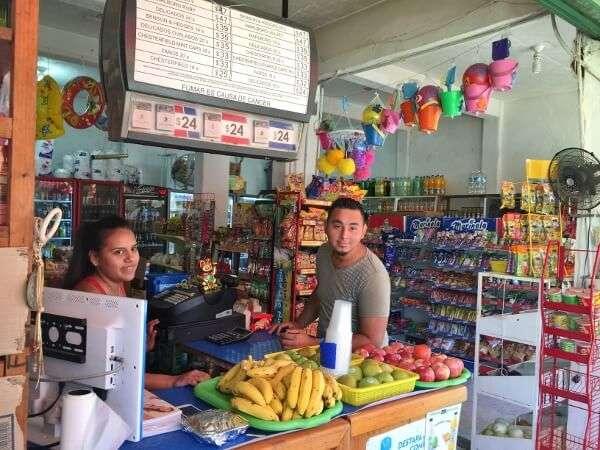 Convenience Store Ixtapa Mexico