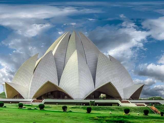 Lotus Temple Delhi India
