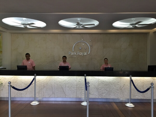 Park Royal Ixtapa Front Desk