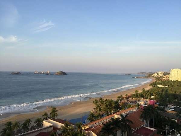 Park Royal Ixtapa overlooking the sea
