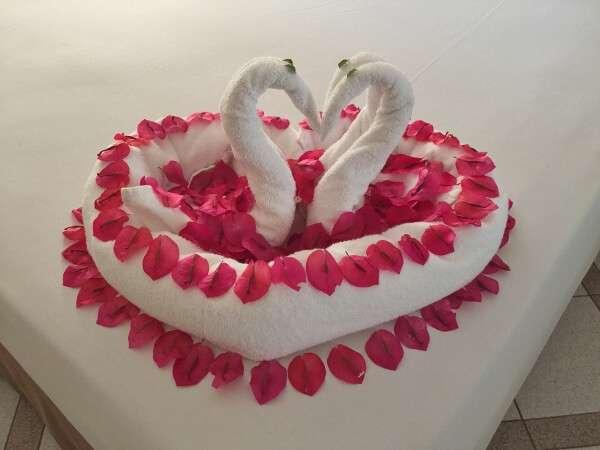 Park Royal Ixtapa room towel designs