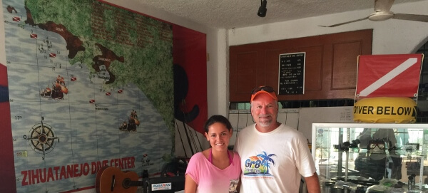 Zihuatanejo Dive Center Dive Master