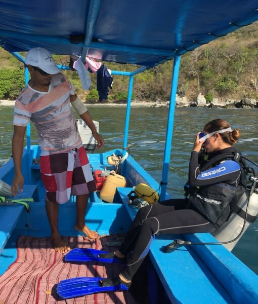 Zihuatanejo Dive Center Instructor