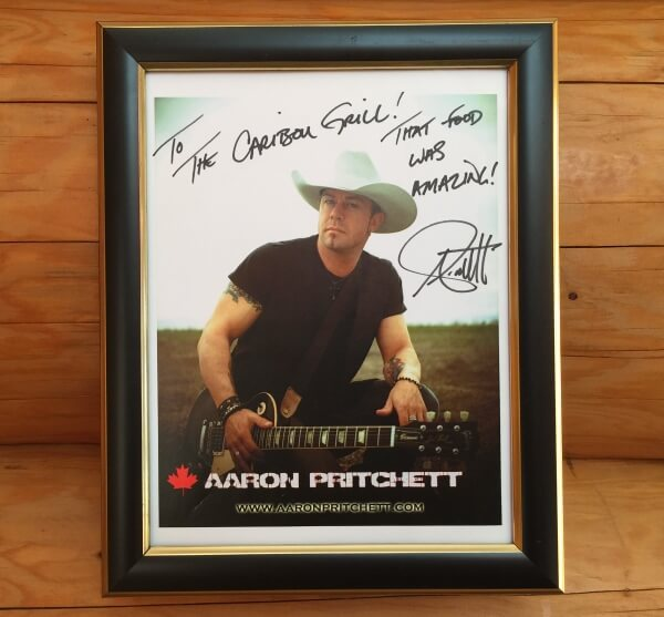Aaron Pritchett Signed Photograph