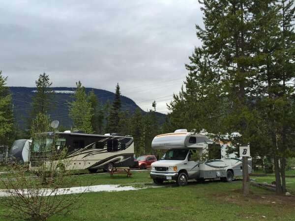 Blue River BC Camping