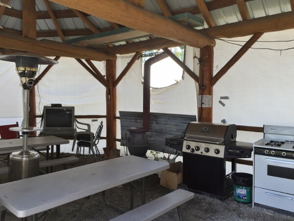 Blue River Campground Amenities