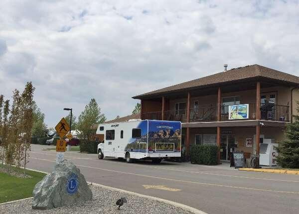 Camping Near Cochrane