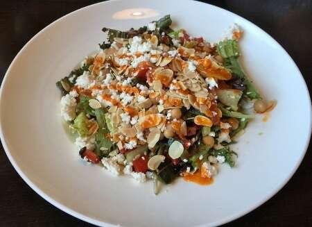 Chickpea & Charred Tomato Salad