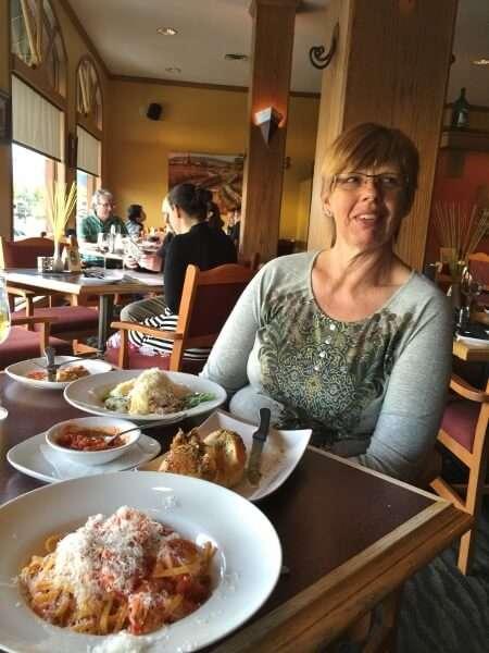 Dining in Jasper Alberta