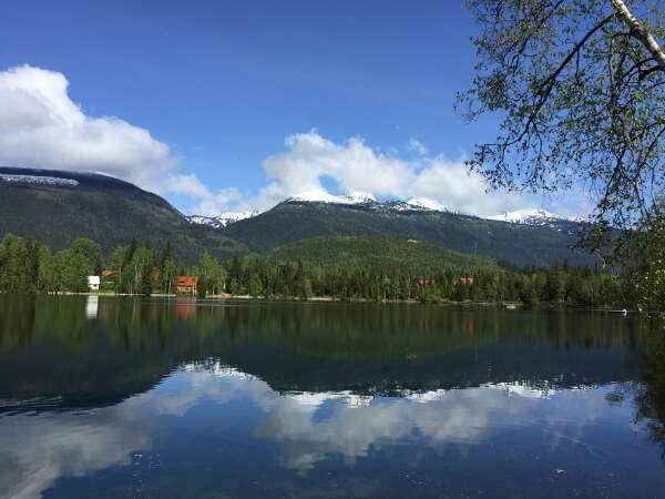 Eleanor Lake Blue River BC