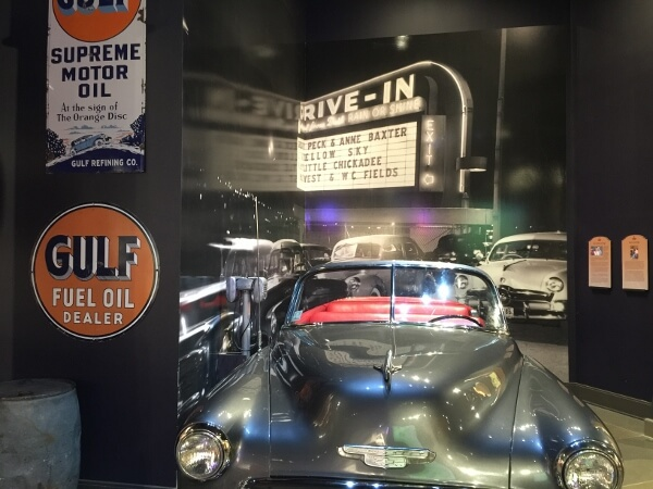 Gasoline Alley Museum Exhibits