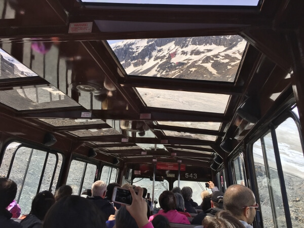 Glacier Explorer Bus Ride
