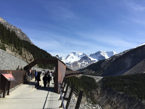 Glacier Skywalk Walkway