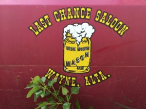 Last Chance Saloon Logo