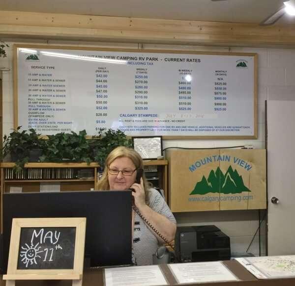 Mountain View Calgary Camping Staff