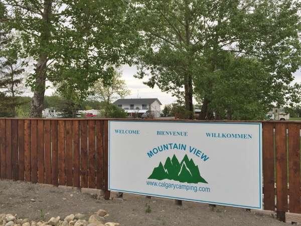 Mountain View Calgary Camping