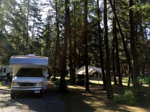 Camping Near Kamloops BC